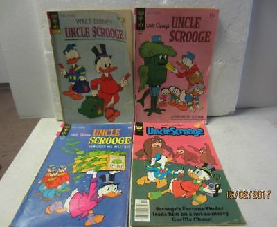 Uncle Scrooge Vintage Gold Key and Whitman  Comics
