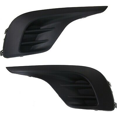 New Fog Light Covers Set of 2 Driver & Passenger Side TO1039153, TO1038153 Pair
