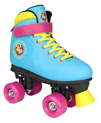 Pop Squad Malibu Quad Roller Skates - Beach Blue