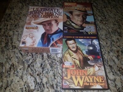 The Ultimate John Wayne Collection 7-disc Dvd Set - 20 Feature-length Westerns &