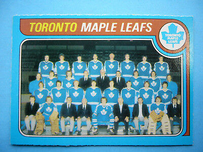 1979/80 O-Pee-Chee Hockey Card #258 Toronto Maple Leafs Checklist Nm Sharp+ Opc