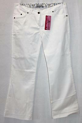 Miss Caydinca Brand Girls White Dress Pants Size 14 BNWT #TA67