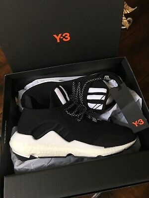 f64796d1f5204 New Men Y-3 Adidas Saikou Primeknit Lace Up Sneakers Shoes Us 9.5 100%