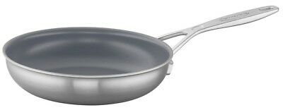 "Demeyere Industry 5-Ply 8"" Stainless Steel Ceramic Nonstick Fry Pan 43620 NEW"