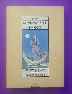 Alchemical Tarot Boxed 1st Edition by Robert Place & Rosemary Guiley (1995)