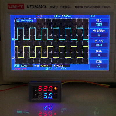 1Hz-160KHz PWM Pulse Frequency Duty Cycle Adjustable Signal Generator Module