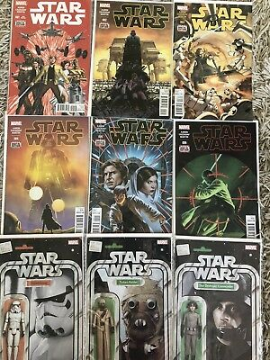 Marvel Comics STAR WARS HUGE COLLECTION 1st issues variants Specials 69 Total +