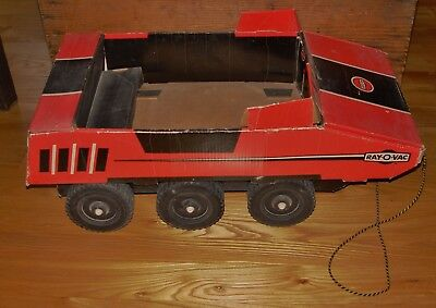 RAYOVAC Giant All Terrain Pull Toy Car Vintage Battery Store Advertising Display