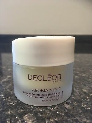 Decleor Aroma Night Neroli essential night balm 30ml (Used)