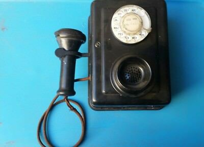 Vintage Wall Mount Rotary Phone