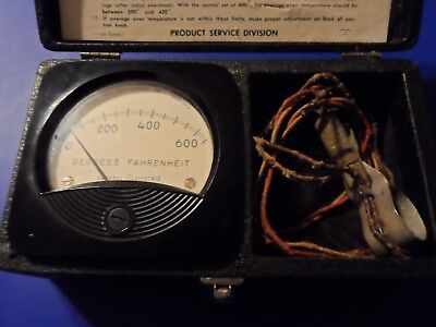 Vintage Oven Temperature Tester Authentic Technician's GE WB80X13 GEJ-1757