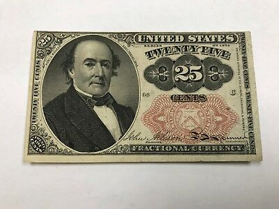 Series of 1874 U.S Fractional Currency 25 Cents *CJ