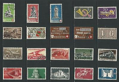 y6464 Switzerland / A Small Collection  Early & Modern Used