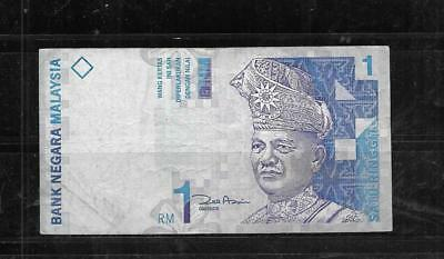 MALAYSIA #39b 1998 VG CIRCULATED RINGGIT OLD BANKNOTE PAPER MONEY CURRENCY NOTE