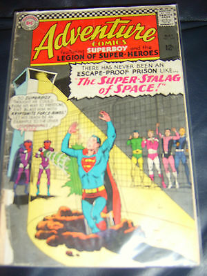 Adventure Comics #344 May 1966 (GD+) Silver Age Starring Superboy & Legion