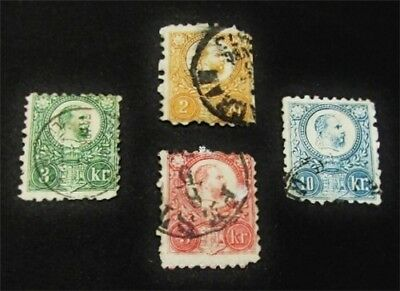 nystamps Hungary Stamp # 7//12 Used $84