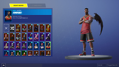 Ultra Rare Stacked Fortnite Account Skull Trooper Red Knight Rex