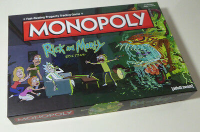 Monopoly board game Rick And Morty edition