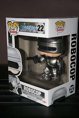 ROBOCOP - FUNKO POP MOVIES # 22 - RARE VAULTED - New !!!