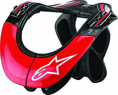 Alpinestars BNS Tech Carbon Neck Support L/X Anthracite/Red/White