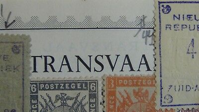 British Transvaal stamp collection on pages w/ 162 stamps high $$ + New Republic