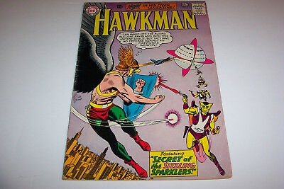 HAWKMAN, 5 Silver Age Issues, #2 on up, DC Comics