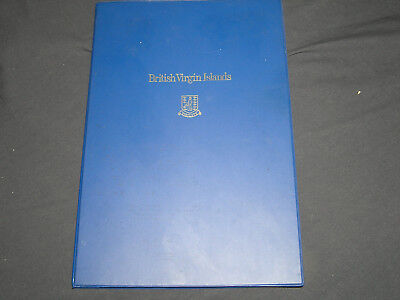 British Virgin Islands 1973 First Day Covers With Sterling Dollar Coin With Coa