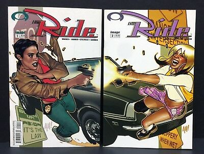 The Ride #1 #2 Lot of 2 Issues Adam Hughes Covers Image Comics