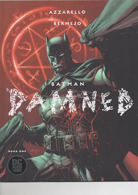 BATMAN DAMNED Book One VARIANT cover/UNCENSORED 1st Print/NM copy/$39.95!