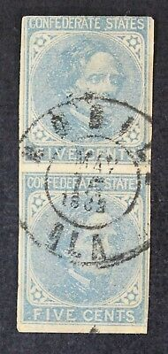 CKStamps: US Confederate States Stamps Collection Scott#7 Used