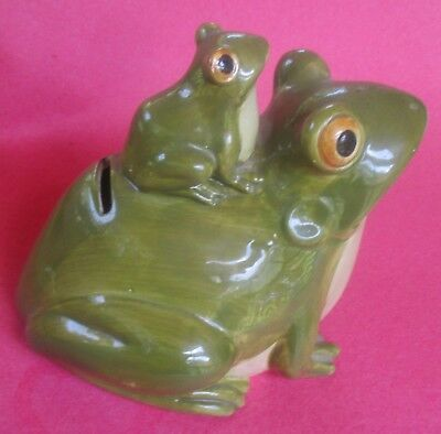 Vintage 1980 Otagiri Frog Bank (Excellent Condition)