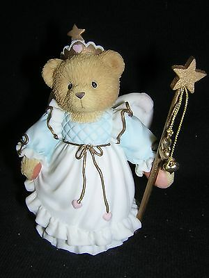 CHERISHED TEDDIES KITTIE Fairy God Mother NEW and Never Displayed!!