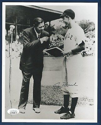 George H. W. Bush (Babe Ruth) JSA Authenticated Autographed 8x10 Photograph !!