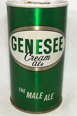 """Genesee """"The Male Ale"""" Pull Top Beer Can, Clean Can, All original, New York"""