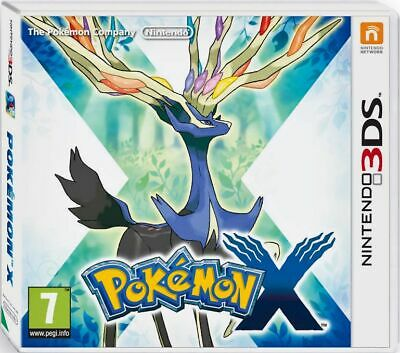 Pokemon X Nintendo 3DS Game - Suitable for the 2DS, 3DS and 3DS XL