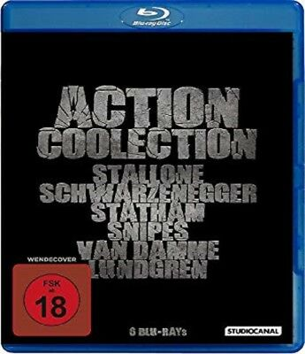 Action Collection Blu-ray 6 Filme Lock up, The Mechanic, Universal Soldier ...