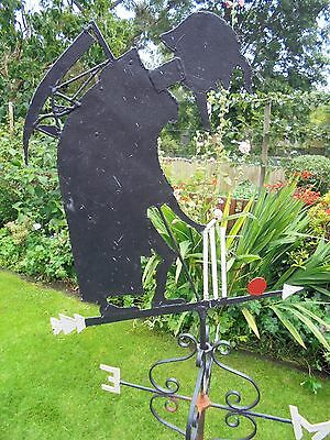 Vintage Weather Vane – Old Father Time – Lords Cricket Ground