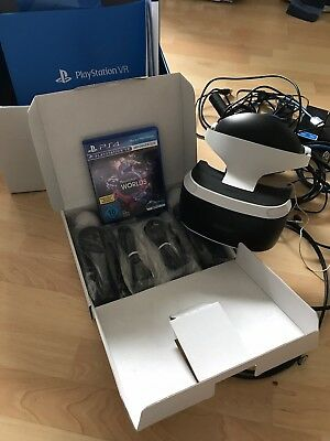 Sony PlayStation VR Launch Bundle VR Headset, Inkl move Controllers