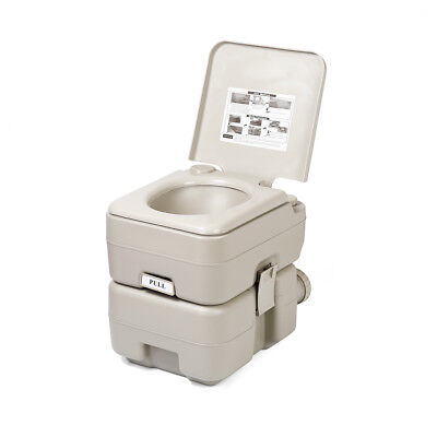 20L Portable Flush Outdoor Toilet for Camping Caravan Yacht Boating Finishing