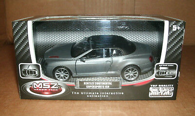 1/43 Scale 2011 Bentley Continental Supersports ISR Diecast Model Luxury Car