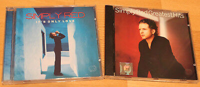 SIMPLY RED - Hits & Ballads +++ 2 Alben: Greatest Hits + Its Only Love ~~~ NEU