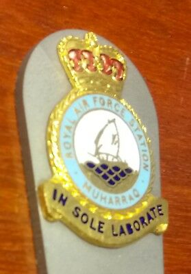 Royal Air Force Muharraq/bahrain Titanium Golf Pitch Mark Repairer