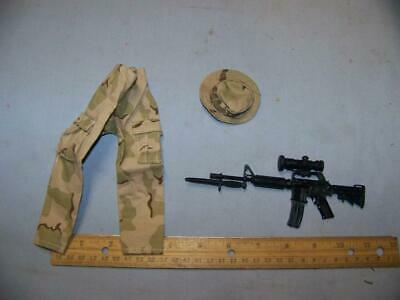 Desert Camo Sniper Scope w//Extender 1//6 scale toy SCOPE