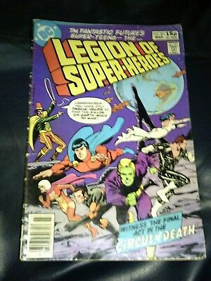 Superboy & The Legion Of Super-Heroes #261 March 1980 (FN-)