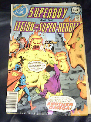 Superboy & The Legion Of Super-Heroes #251 May 1979 (VG) Bronze Age