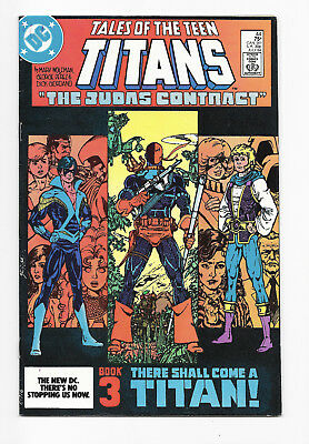 Tales of The Teen Titans No. 44 - 1st Nightwing; Deathstroke - KEY - DC - 1984