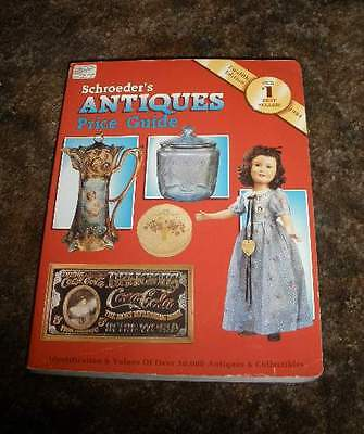 Schroeder's Antiques Price Guide Twelfth Edition 1994 An Illustrated Value Guide