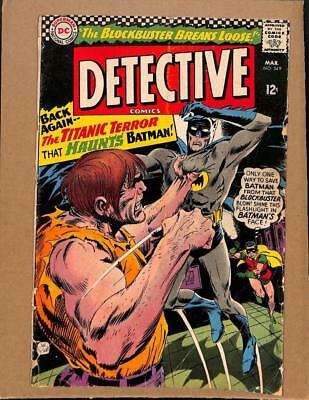 Detective Comics # 349 - Batman Robin! Justice League of America! DC Comics