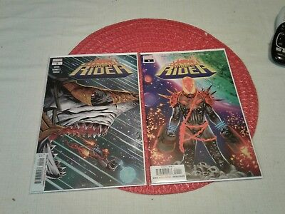 Cosmic Ghost Rider 1 and 2 first print Donny Cates