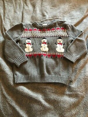 Gymboree Baby Boy Holiday Sweater Size 18-24 Months Worn Once!